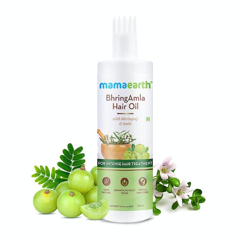 Mamaearth BhringAmla Hair Oil