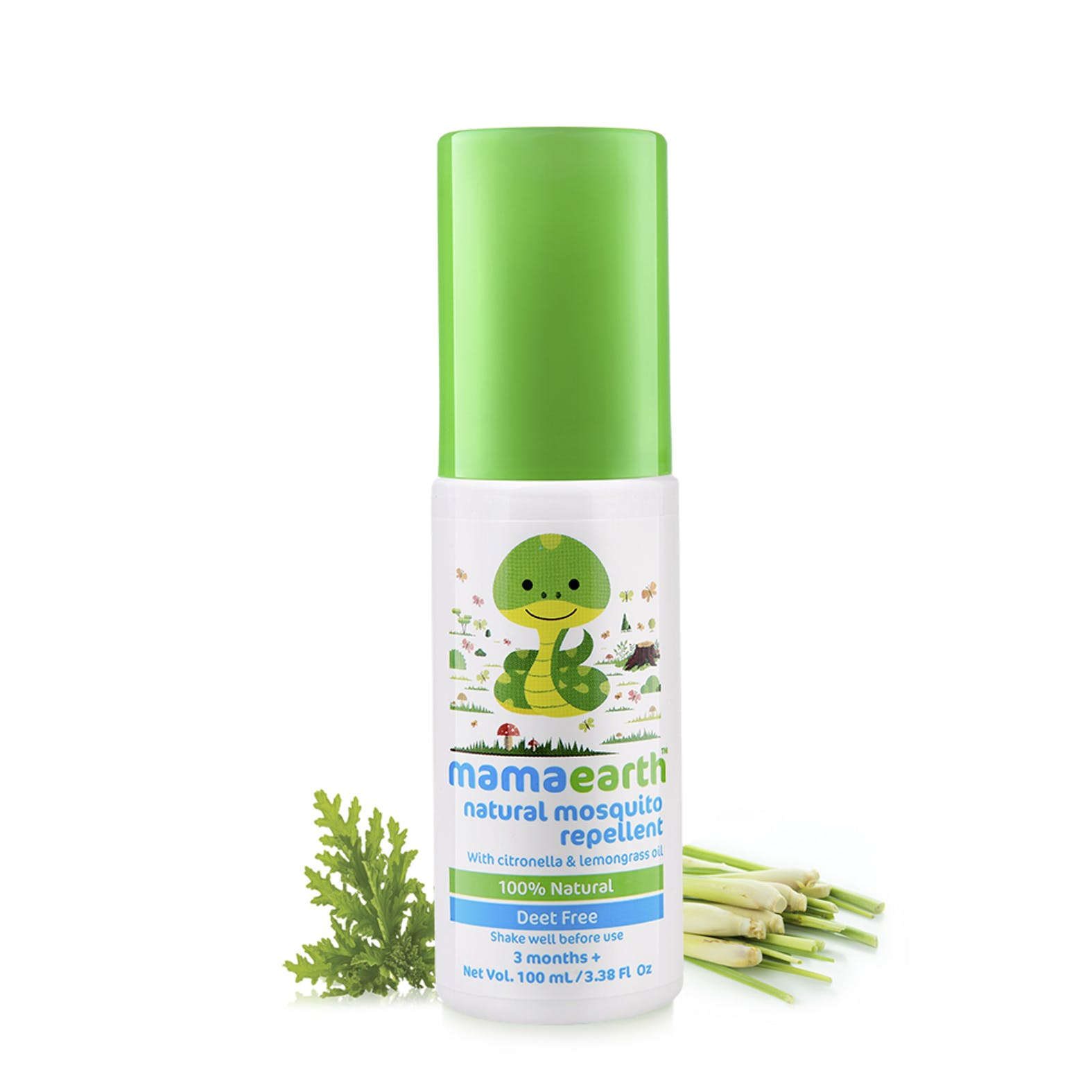 Natural Mosquito Repellent Spray 100ml Mamaearth